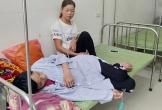 Gia cảnh túng quẫn của người vợ chăm chồng bị liệt giường
