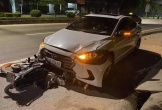 Tạm đình chỉ cán bộ Thanh tra giao thông tông nữ lao công tử vong