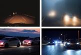 Bí quyết lái xe an toàn vào ban đêm khi không có đèn đường