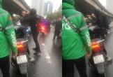 Clip gã trai đi SH ở Hà Nội đánh tài xế già lái xe khách tóe máu rồi bỏ chạy