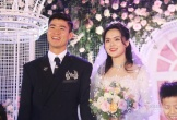Cận cảnh đám cưới cổ tích của cầu thủ Duy Mạnh và Quỳnh Anh
