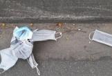 Vứt bỏ bừa bãi khẩu trang y tế đã sử dụng: có thể bị phạt tới 7 triệu đồng