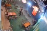 Nam thanh niên bị chém gục ở quán cà phê