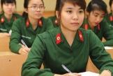 Tuyển sinh khối ngành quân sự: Lần đầu tiên thí sinh được đổi nguyện vọng