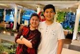 Con trai Phước Sang - Kim Thư cao nổi bật ở tuổi 13