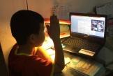 Con học trực tuyến, phụ huynh kêu trời