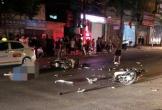 Clip: 2 xe máy đấu đầu kinh hoàng trong đêm, 3 người thương vong