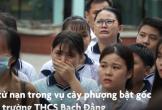 Nước mắt ngày đưa tiễn học sinh tử nạn trong vụ cây phượng bật gốc