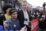 Con gái thị trưởng NYC bị bắt khi tham gia biểu tình vụ George Floyd