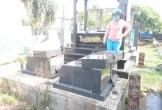 Nam thanh niên đập phá hàng chục ngôi mộ tại nhiều nghĩa trang