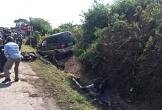 Xe 7 chỗ gây tai nạn kinh hoàng khiến cô gái tử vong với thi thể biến dạng