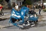 Xe bán tải tông văng cabin xe tải xuống đường, tài xế tử vong