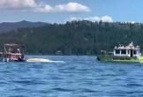 2 máy bay va chạm rơi xuống hồ, 8 người thiệt mạng