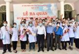 40 y bác sỹ từ Huế xuất quân vào hỗ trợ Đà Nẵng chống dịch Covid-19