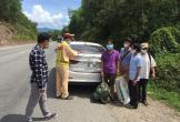 Phát hiện xe 4 chỗ chở khách trốn khỏi Đà Nẵng