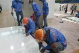 Chùm ảnh: Hối hả xây dựng bệnh viện dã chiến lớn nhất Đà Nẵng