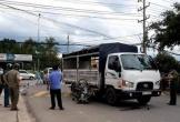Xe tải ôm cua va chạm với xe máy, 2 người tử vong tại chỗ