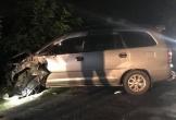 Tài xế Toyota Innova bỏ đi sau khi tông 4 xe máy làm 9 người bị thương