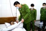 Trưởng công an xã bị ngã trọng thương khi tham gia chữa cháy