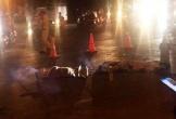 Bị xe bồn cán, 2 ông cháu tử vong ngày cận Tết