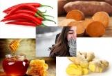 Bổ sung thực phẩm giữ ấm cơ thể khi thời tiết chuyển lạnh