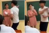 Bộ GD&ĐT phối hợp với Bộ Công an vào cuộc xác minh vụ nam sinh vung tay tát cô giáo ngay trong lớp học