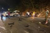 Tai nạn giao thông liên hoàn trên đèo Bảo Lộc, nhiều người bị thương