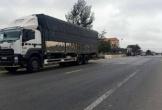 Xe tải va chạm xe máy trên QL1A, một người tử vong thương tâm