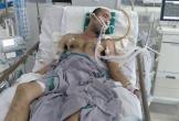 Người công nhân bị viêm não và con mắc bệnh lạ cần giúp đỡ