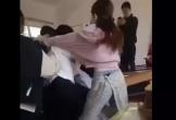 Đánh nhau trong lớp, nữ sinh gọi cả người nhà đến 'hỗn chiến'