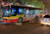 Nam thanh niên đi xe máy bị xe buýt cán chết thương tâm