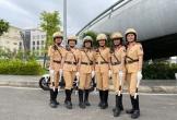 Đà Nẵng lập đội hình nữ CSGT dẫn đoàn