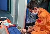 Cấp cứu khẩn cấp thuyền viên bị tai nạn trên vùng biển Đà Nẵng