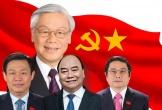 Infographic: Chức vụ 23 Ủy viên Bộ Chính trị, Ban Bí thư sau kiện toàn