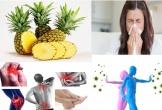 Dứa và những dinh dưỡng tuyệt vời cho cơ thể bạn