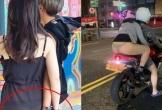 Phong cách 'trên kín dưới hở' đi ăn cưới gây tranh cãi của cô gái trẻ