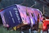 Xe tải và xe buýt đâm nhau tại Mexico, 16 người thiệt mạng