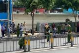 Lái xe ôm bị đâm chết gần cổng bệnh viện