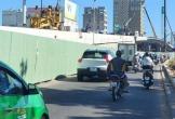 Phương án mới phân luồng giao thông thi công nút giao Tây cầu Trần Thị Lý